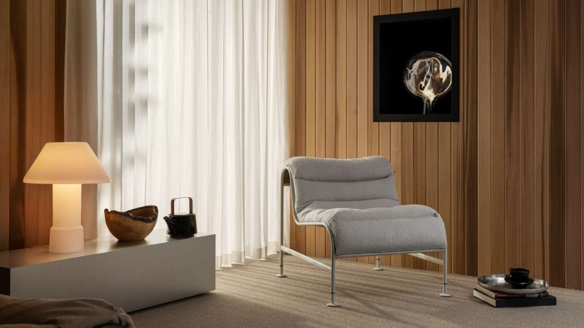 Sunny easy chair by Note Design Studio and Gunilla Allard for Lammhults