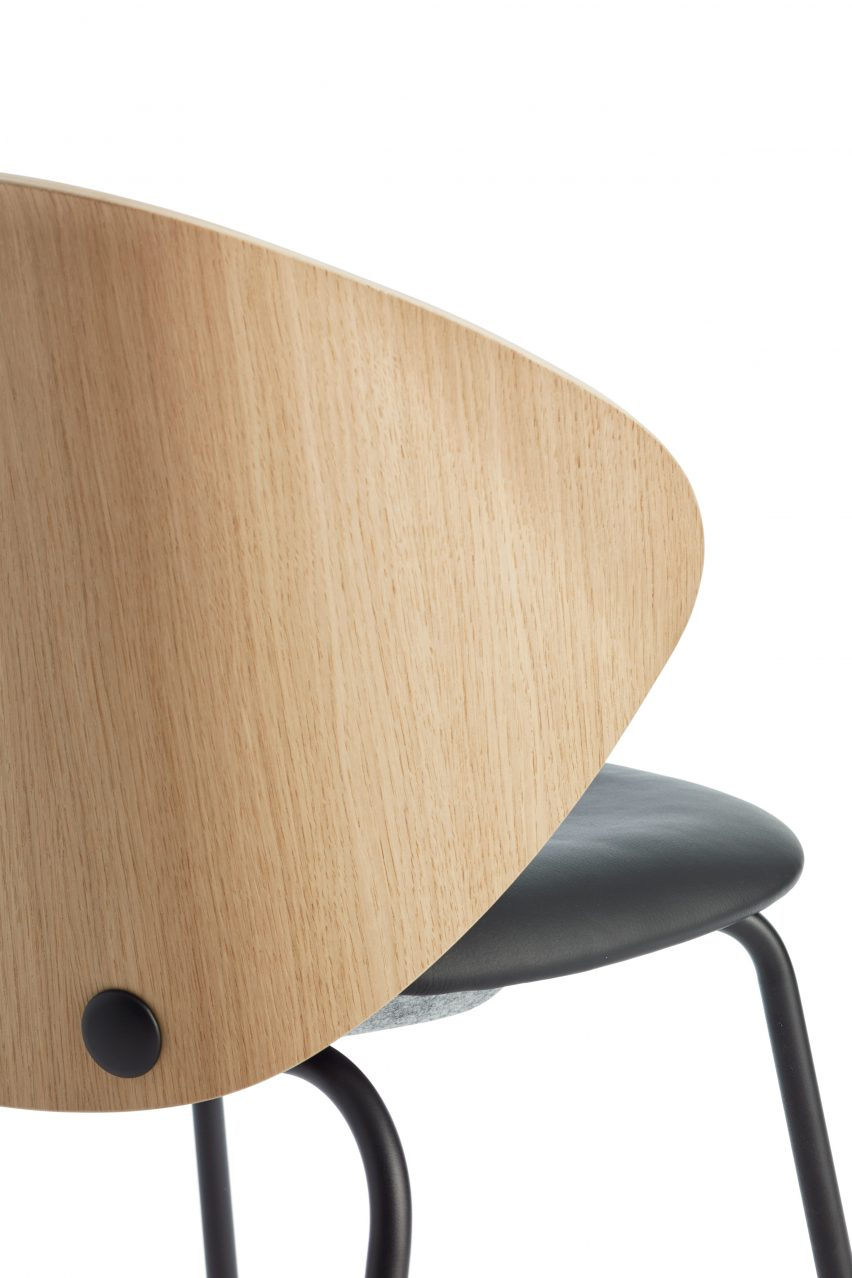 Trioo 2 chair by Johannes Foersom and Peter Hiort-Lorenzen for Lammhults