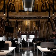 Ceilings are designed to create flexible workspaces
