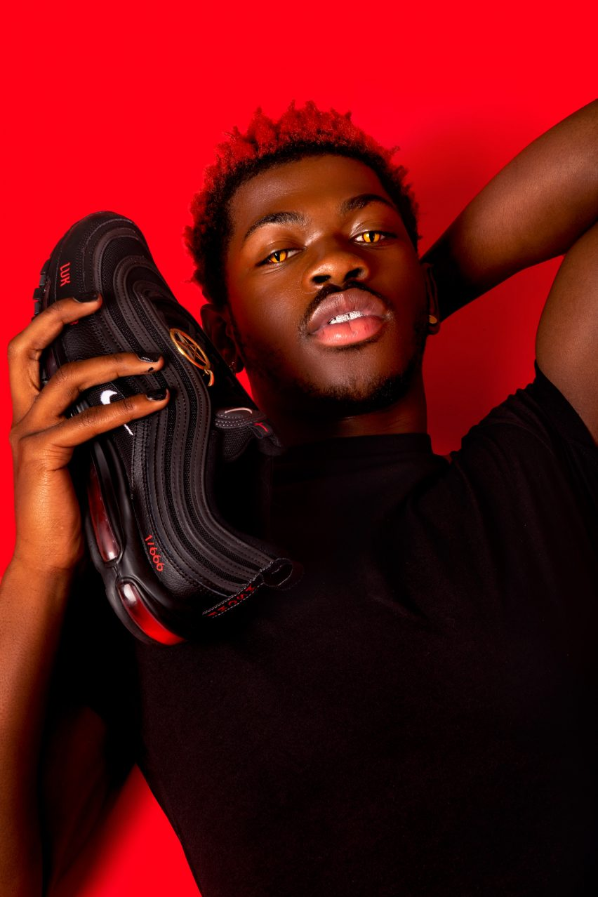 Lil Nas X's Satan Shoes