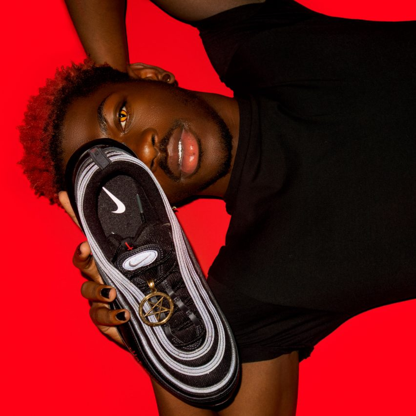 Satan Shoes by Lil Nas X and MSCHF