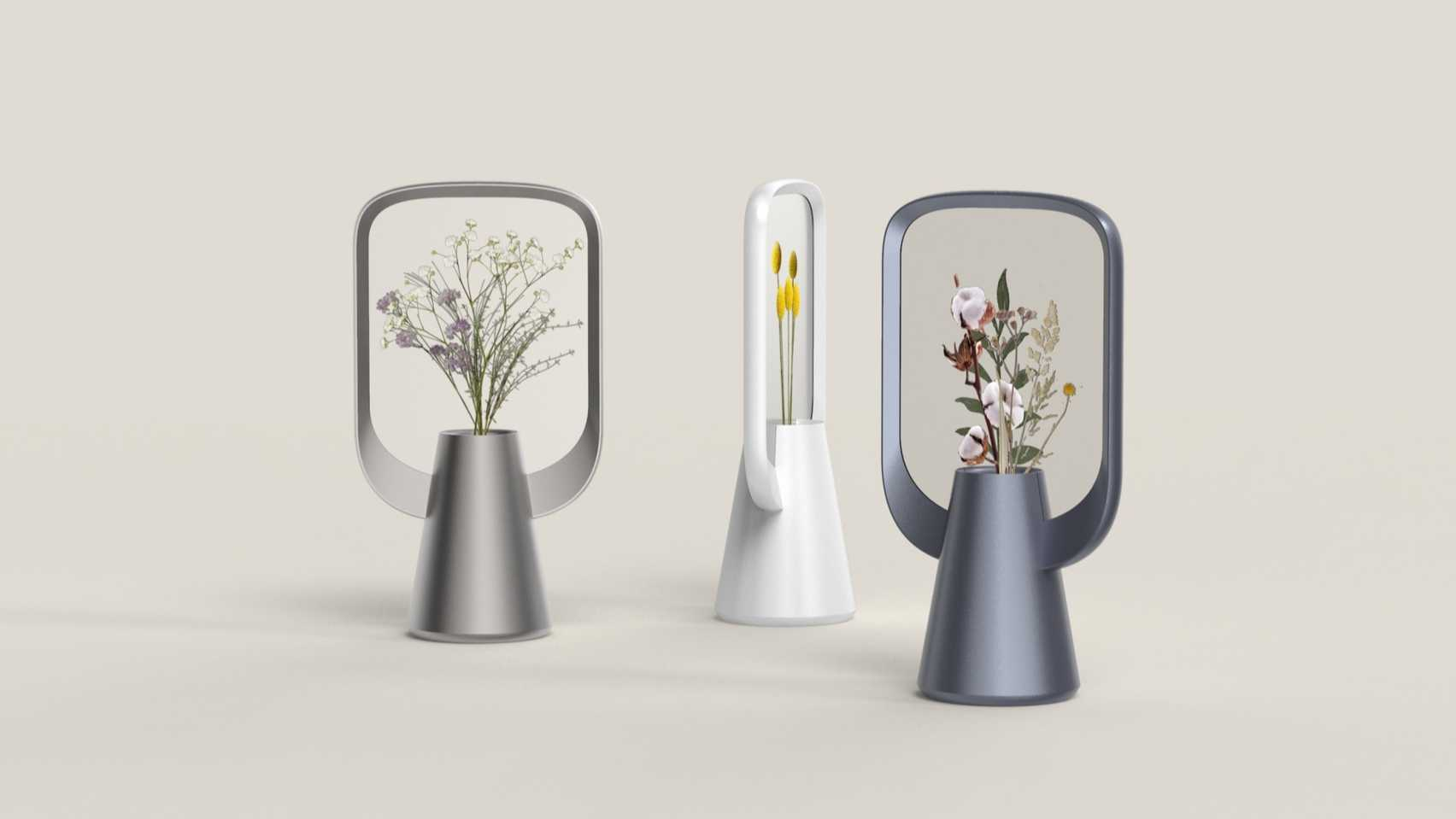 Lily by Sinan Anayurt virtual plant on the Dezeen and LG Display OLED Go competition shortlist