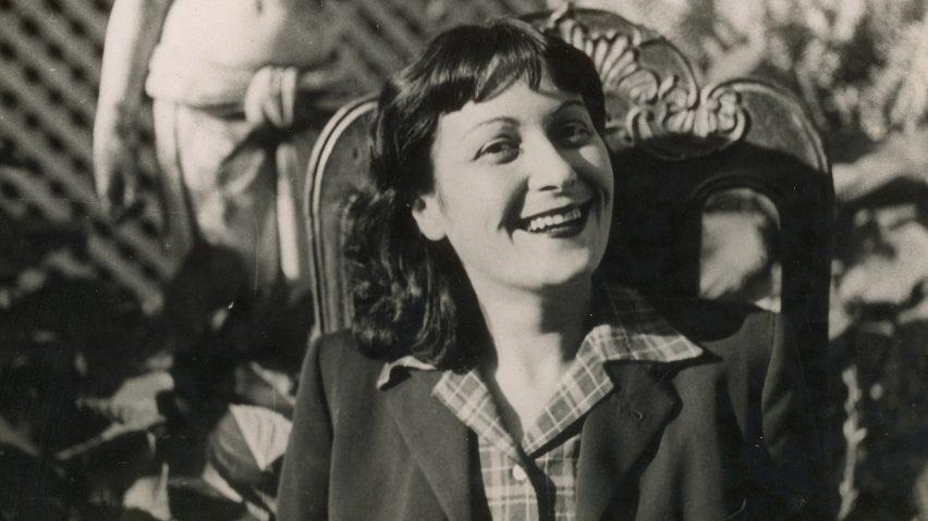 Portrait of Lina Bo Bardi