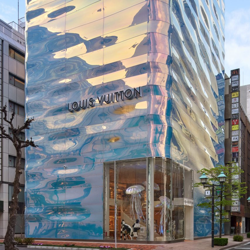Louis Vuitton Ginza by Jun Aoki
