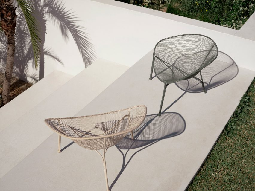 Luna outdoor chairs by Charles Wilson for King Living
