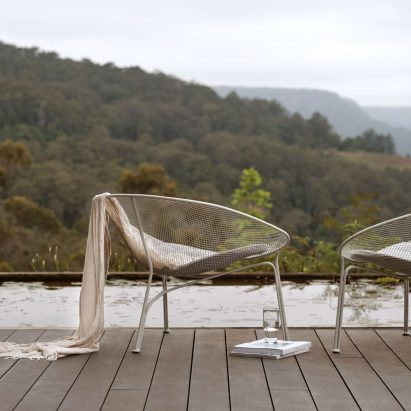 Luna outdoor chair by Charles Wilson for King Living