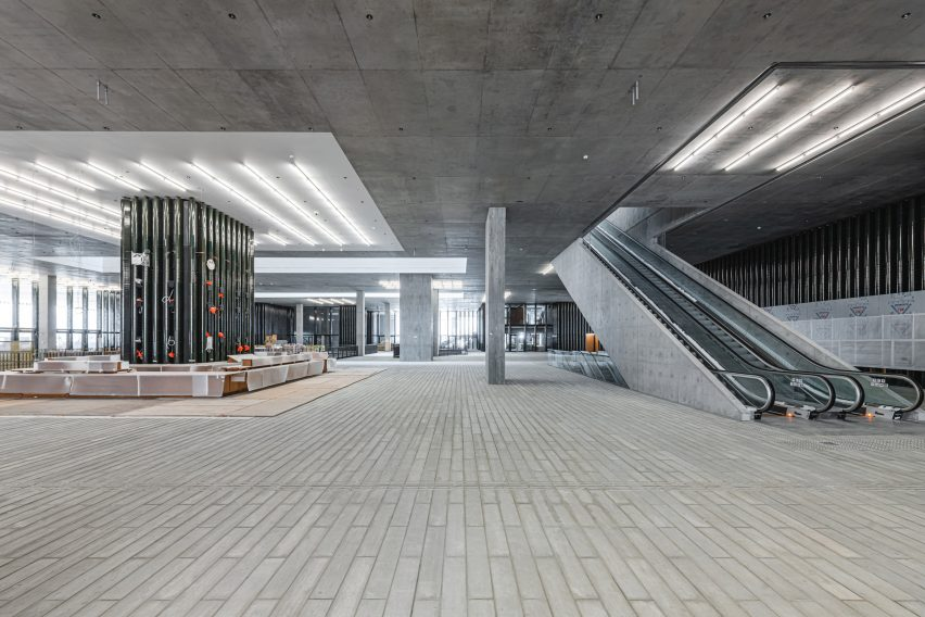 Concrete interior