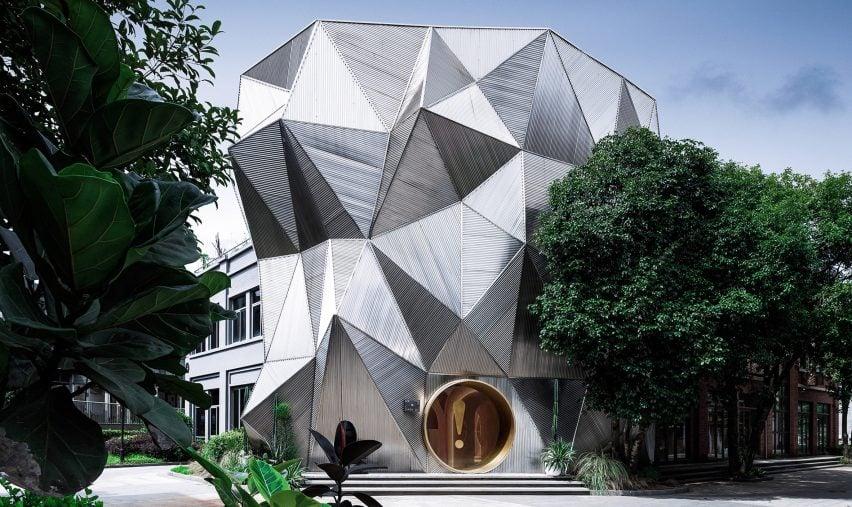 PIG Design creates Memphis-informed Ya Space! furniture showroom in Hangzhou