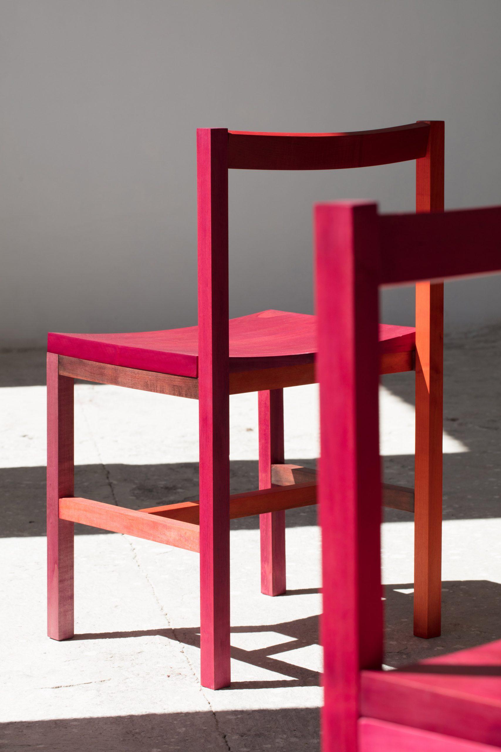 Grana chairs by Moisés Hernández