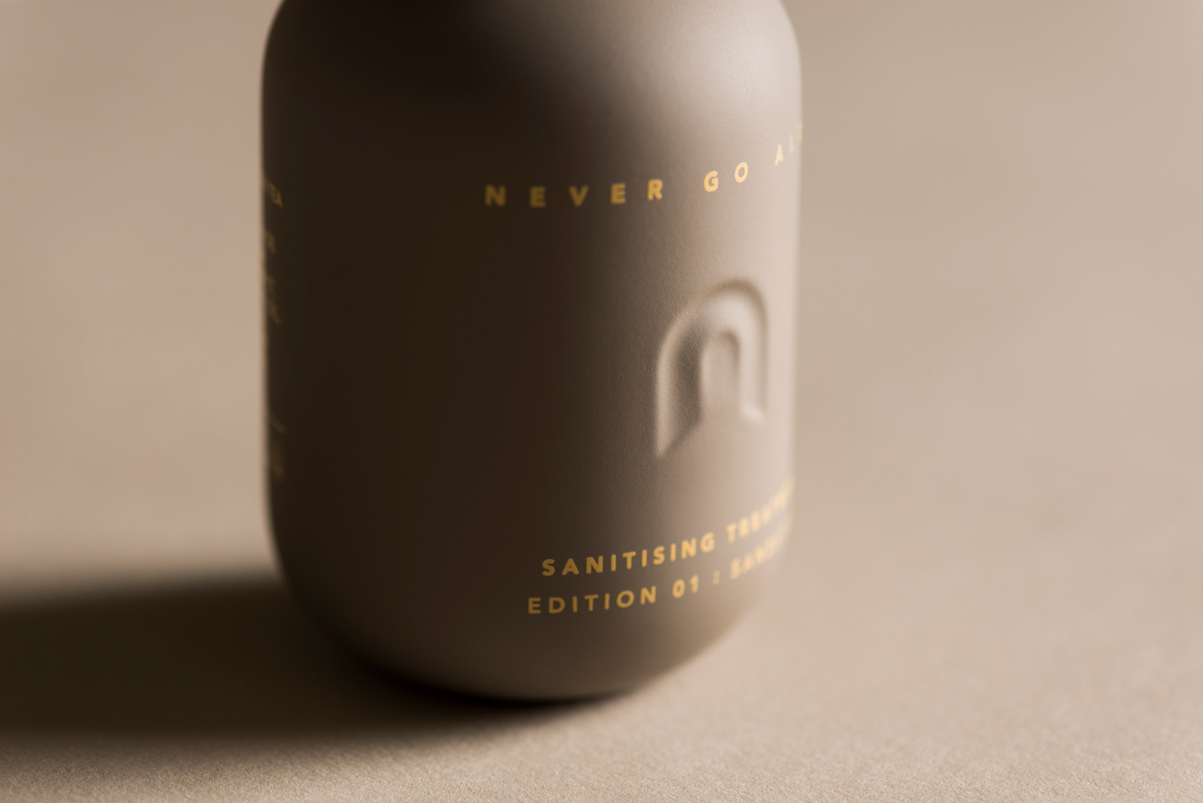 Never Go Alone branding by Layer