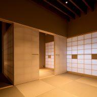Tatami room on the ground floor