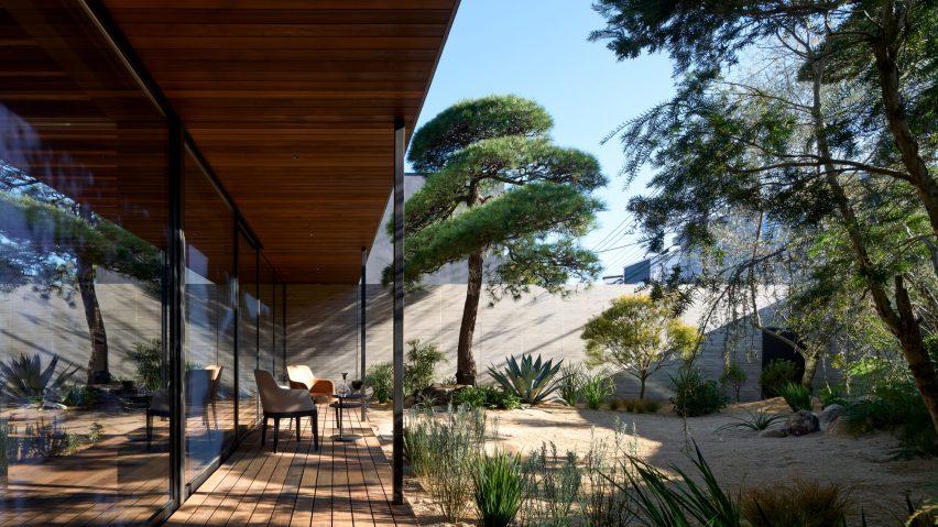 Noble House has a biodiverse garden
