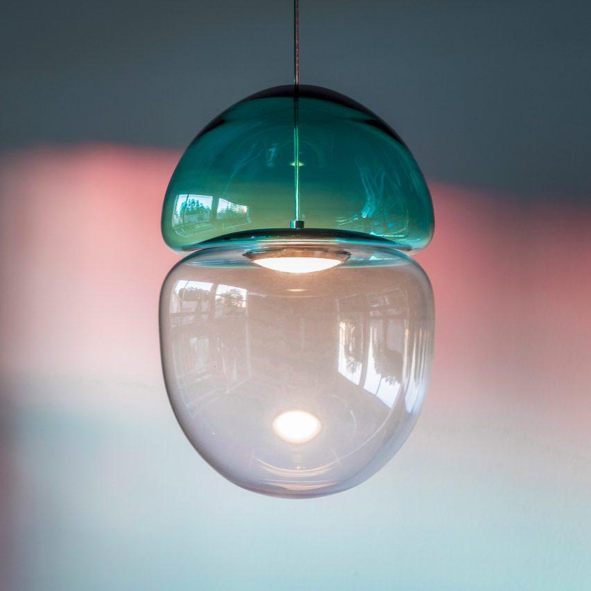 Dew & Drop pendant light by Ocrum Studios