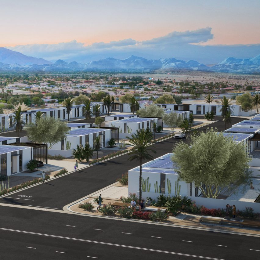 3D-printed homes in Rancho Mirage