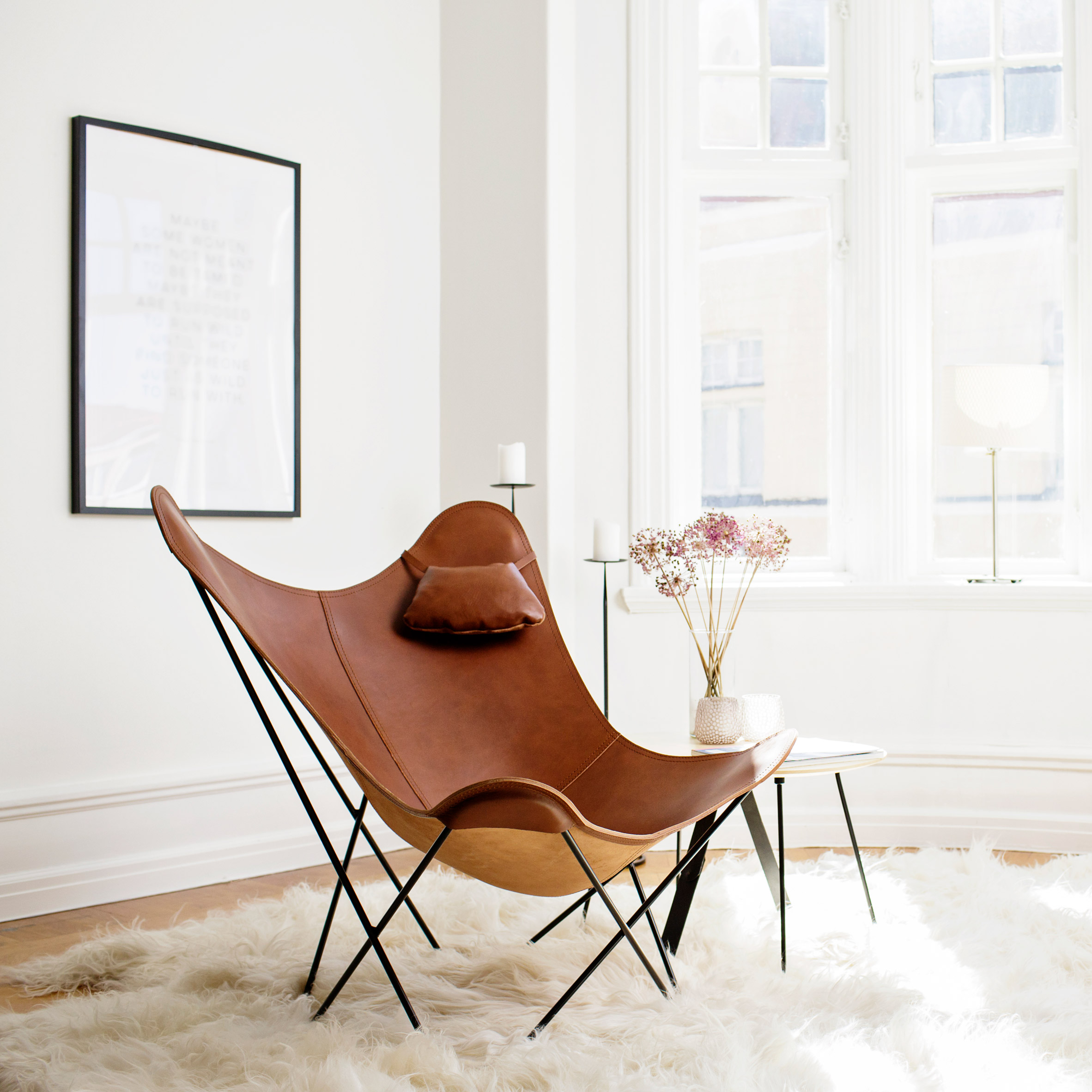 Pampa Mariposa chair by Cuero Design