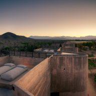 The resort has rooftop terraces