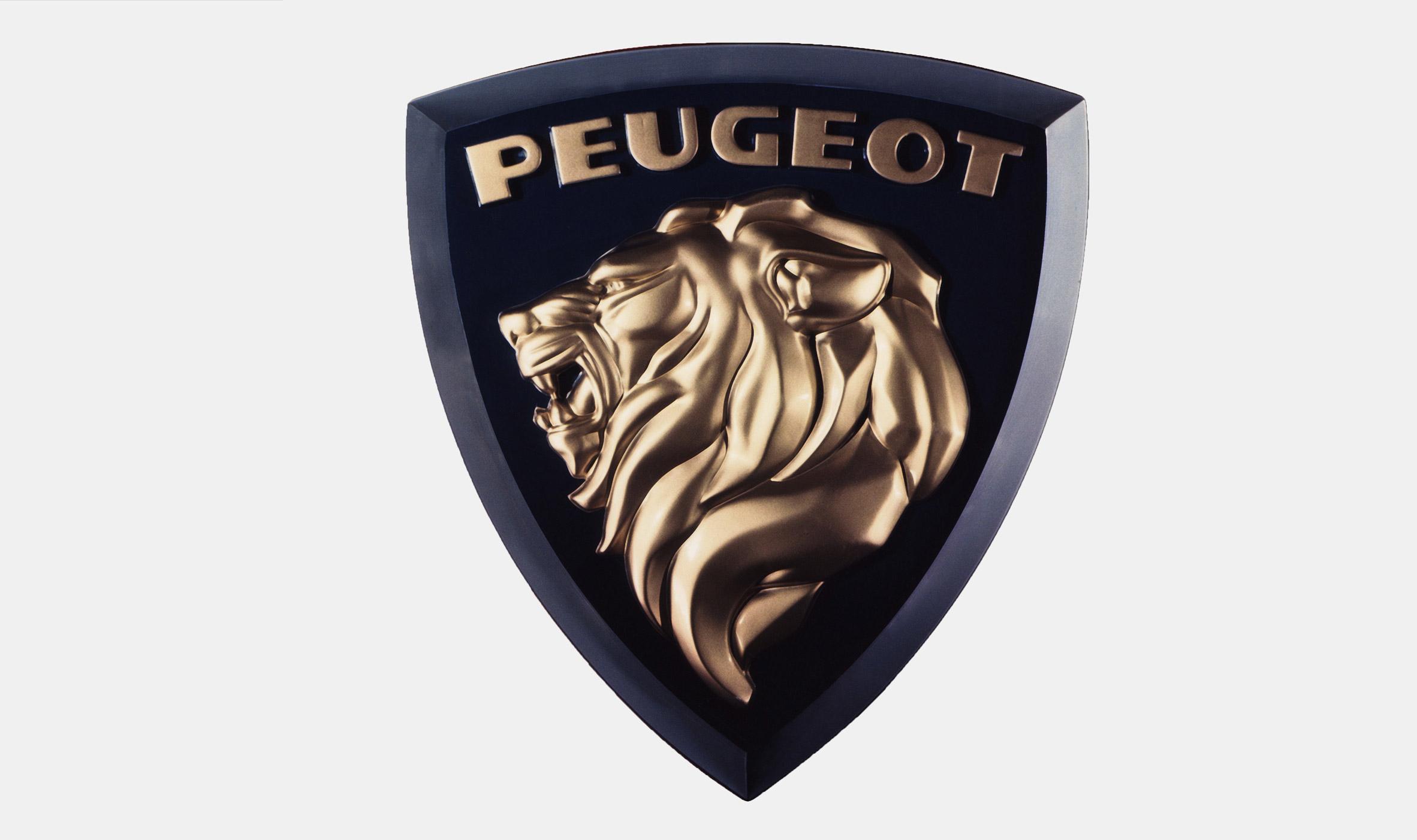 Peugeot's 1960s' logo