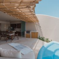 Each residence has its own plunge pool