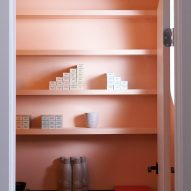 Products in the colour room