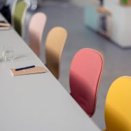 RBM Noor chairs by Flokk in a meeting room