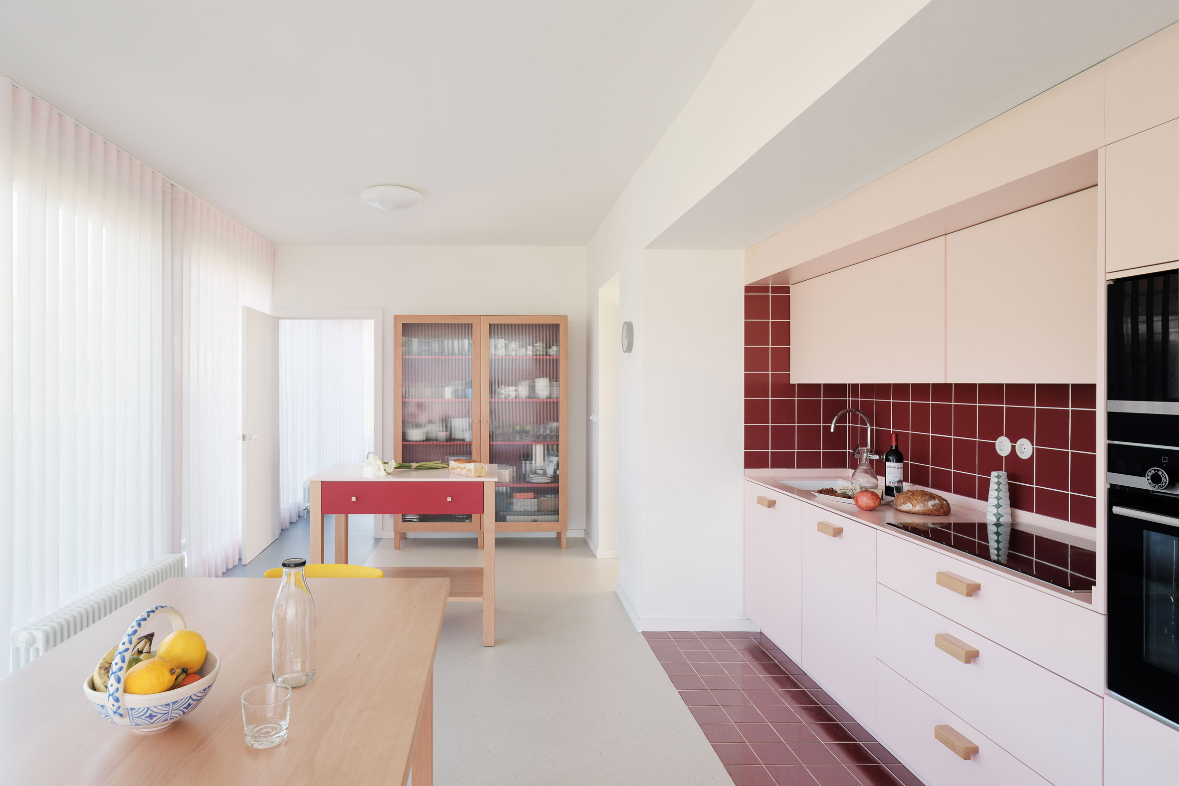 Kitchen in a Spanish home