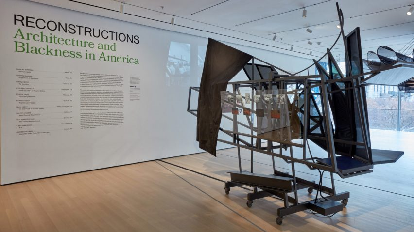 The MoMA exhibition is co-curated by Sean Anderson and Mabel O Wilson