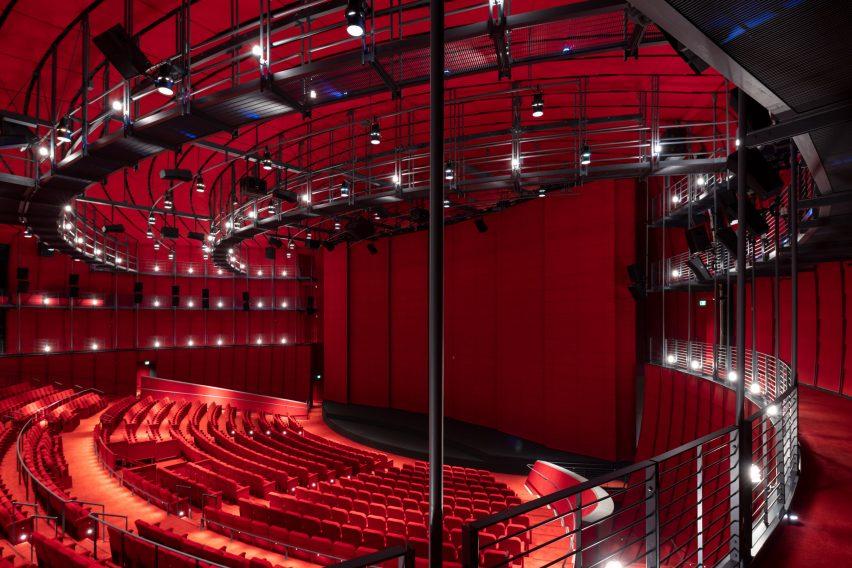 David Geffen Theater in Academy Museum