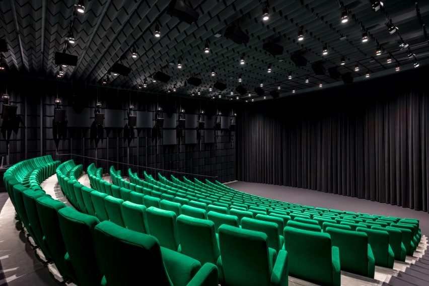 Ted Mann Theater in Academy Museum