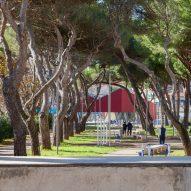 The Piazza della Repubblica