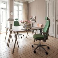 RH Mereo desk chair by Flokk and Veryday