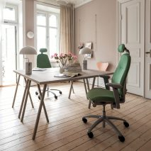 The RH Mereo chair in an office environment