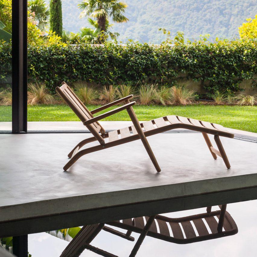Levante lounge chair by Piero Lissoni for Roda 2021 Catalogue