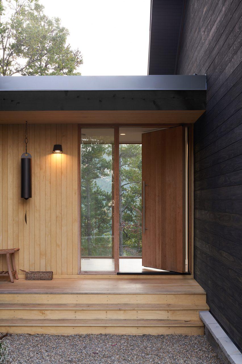 Porch of Short Mountain House