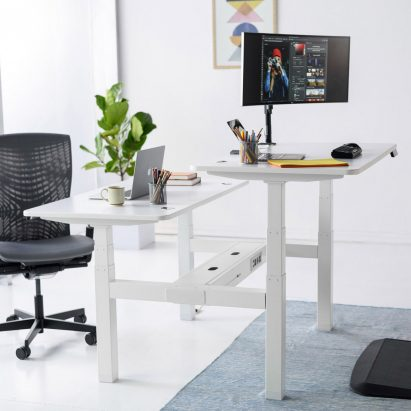 SmartDesk 2 by Autonomous in a white finish