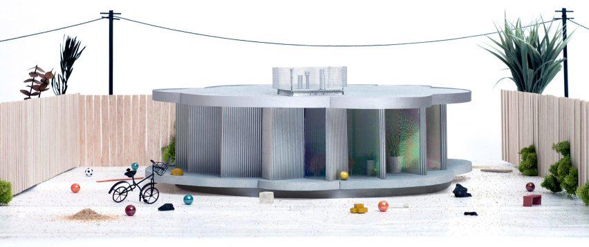 Model of Pebble House