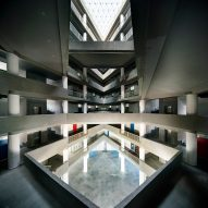 A multi-storey atrium by Charged Voids