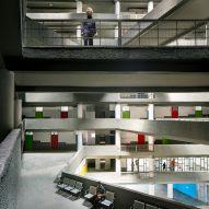 A multi-storey atrium