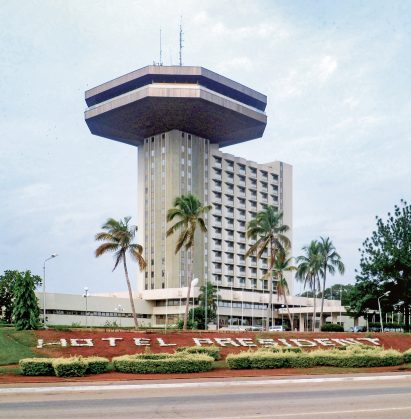Hôtel Président, Yamoussoukro, by Olivier-Clément Cacoub