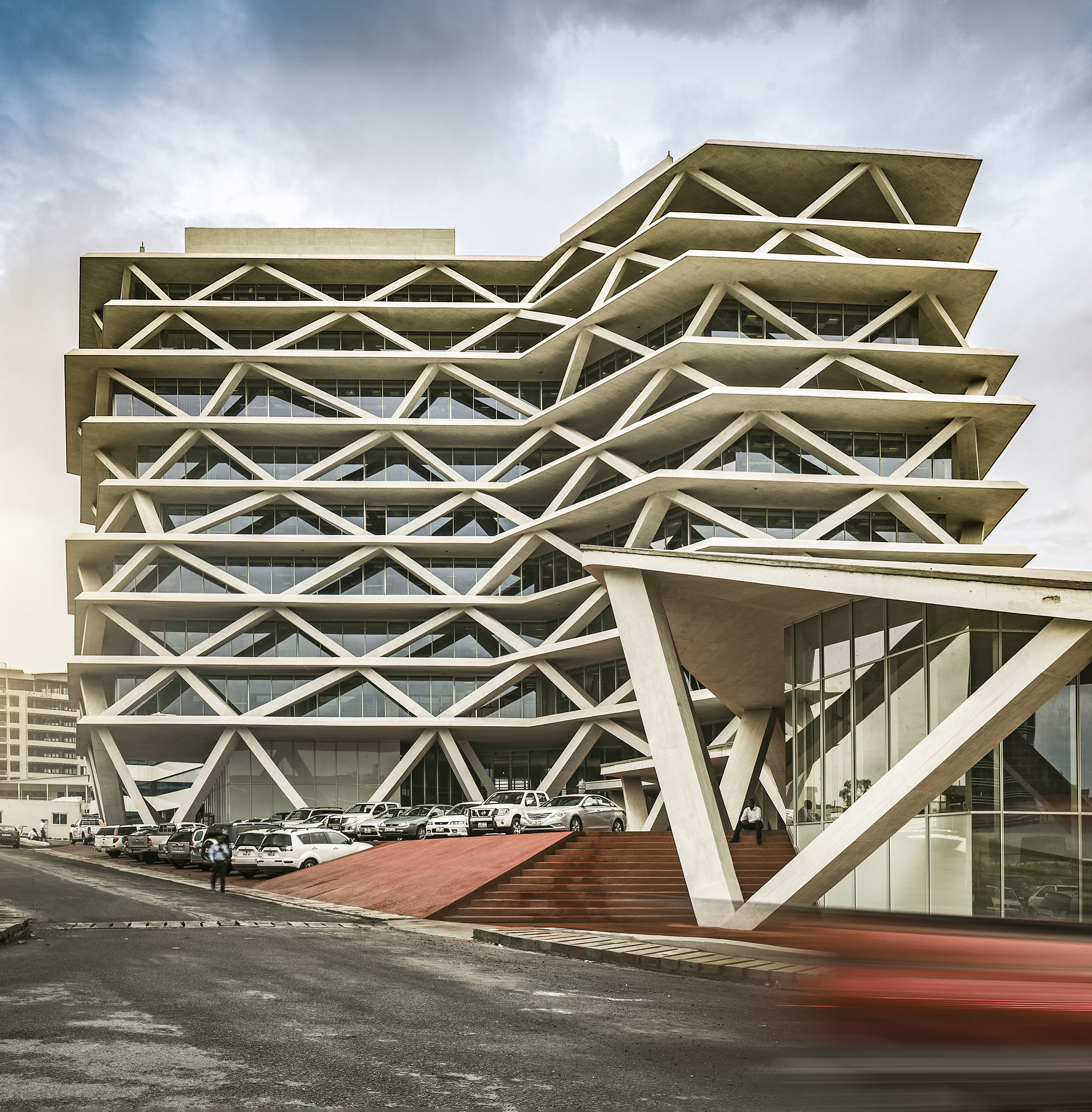 One Airport Square, Accra, by Mario Cucinella Architects, Deweger Gruter Brown & Partners