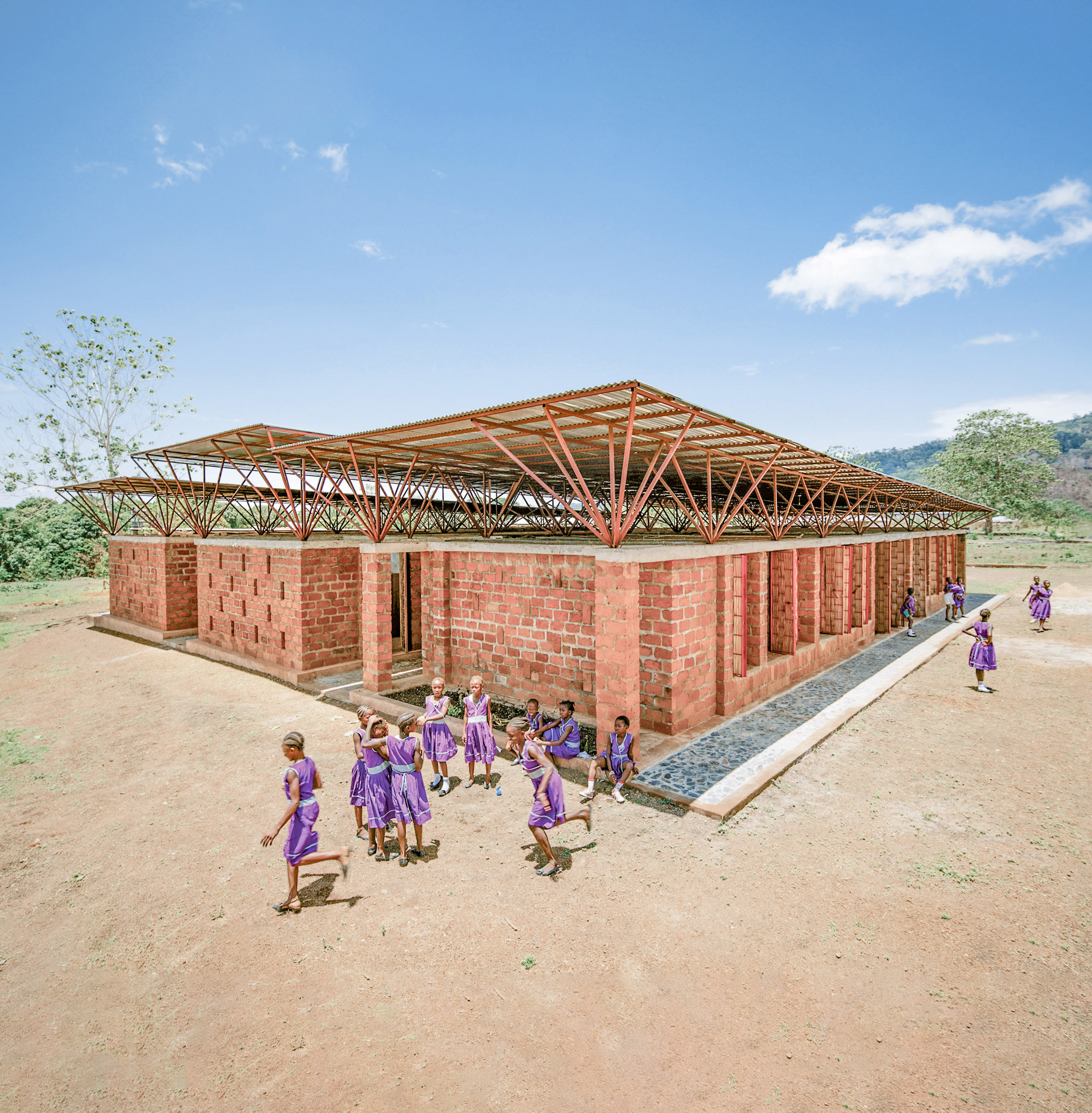 Swawou School for Girls, Kenema, Eastern Province, by Orkidstudio