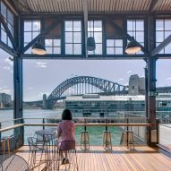 Sydney Theatre Company's Wharf building on Sydney Harbour by Hassell