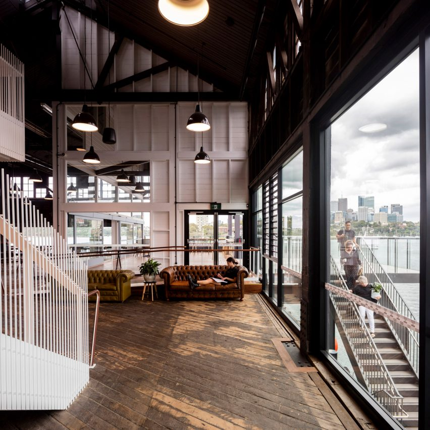 Wharf building for the Sydney Theatre Company by Hassell