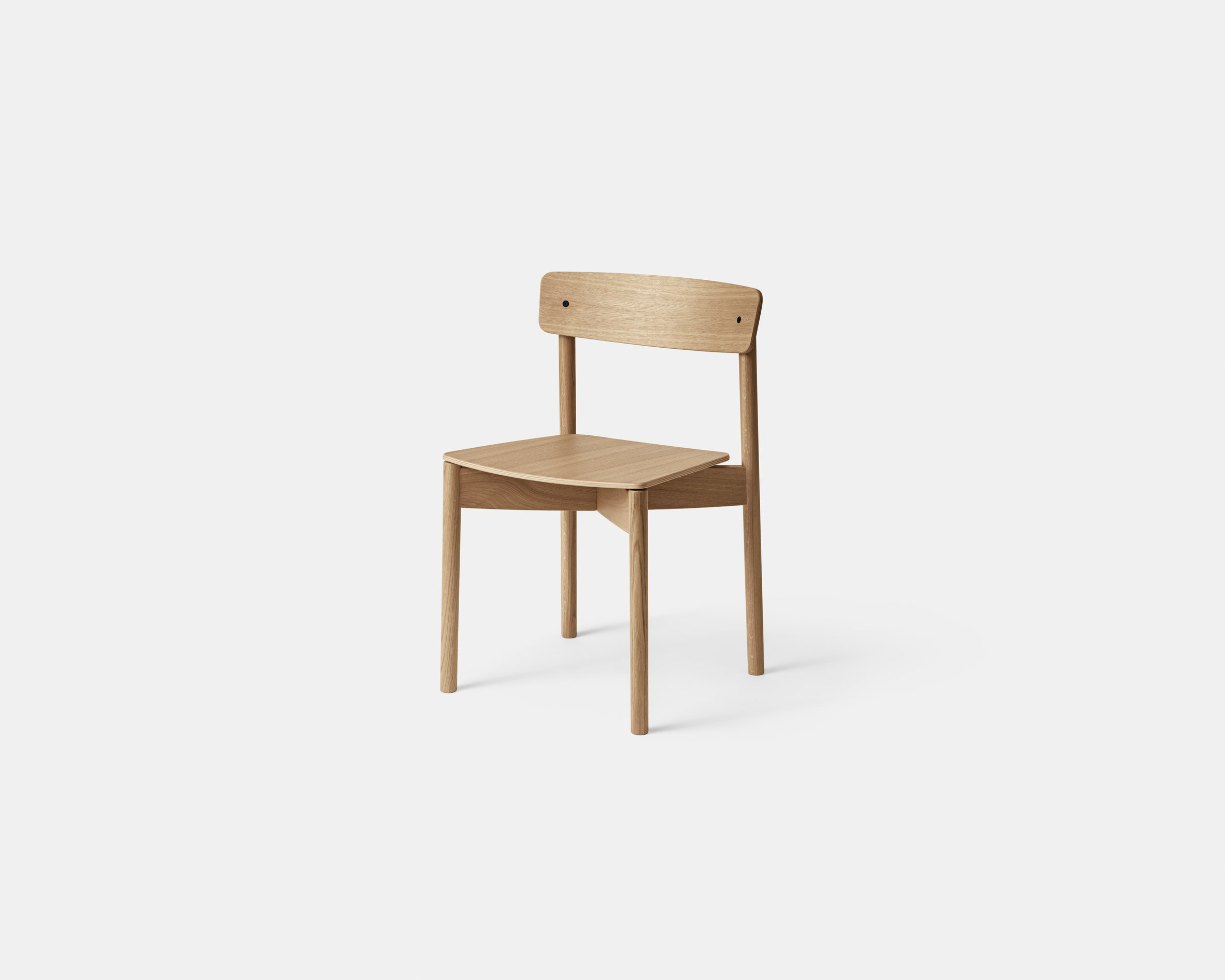 Cross Chair by Pearson Loyd for Takt as seen from the front