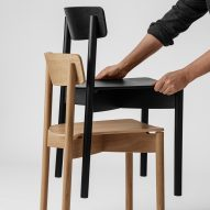 Cross chair by Pearson Lloyd for Takt