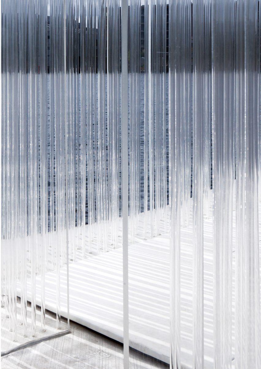 Acrylic tube detailing