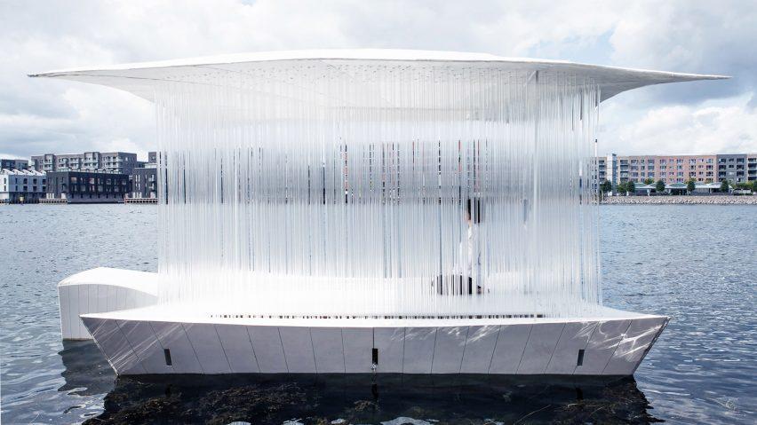 A floating pavilion in Copenhagen
