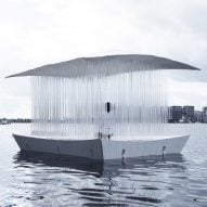 Pan Projects creates floating Teahouse Ø on Copenhagen canal