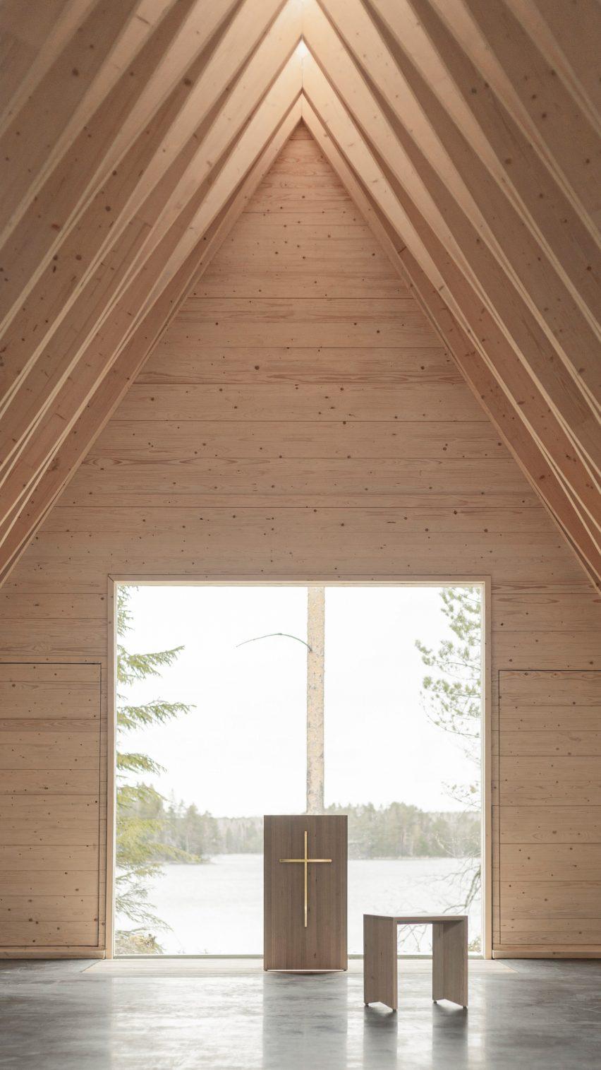 Wedding chapel at Tervajärvi campground