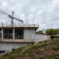 The Art Preserve in construction