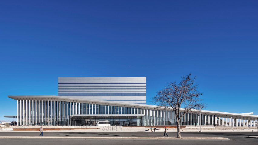 The Buddy Holly Hall by Diamond Schmitt Architects